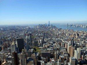 vue de l'Empire State Building